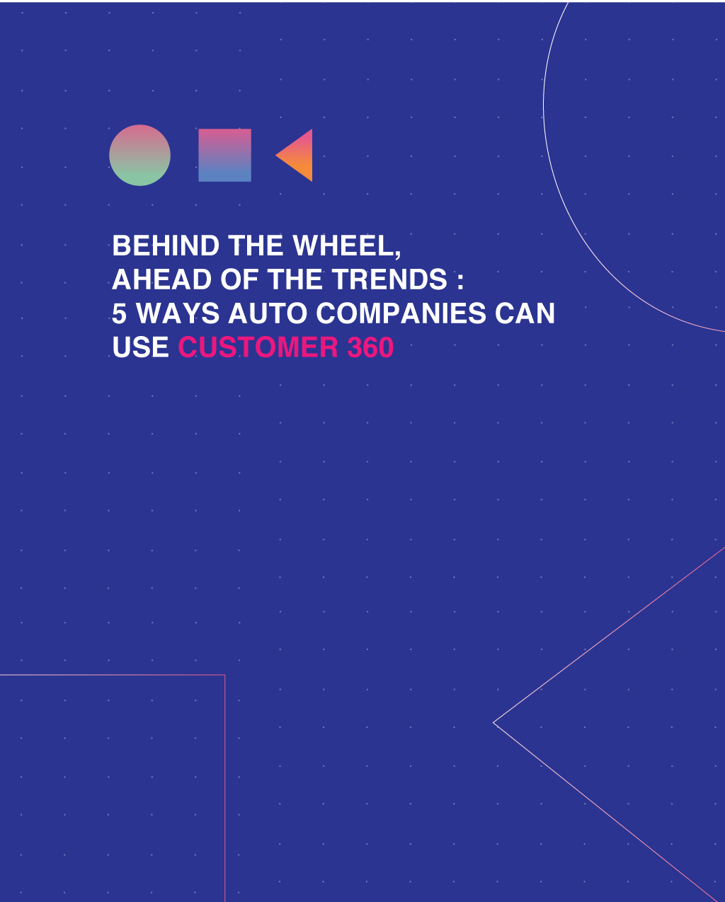 customized customer data management for auto industry